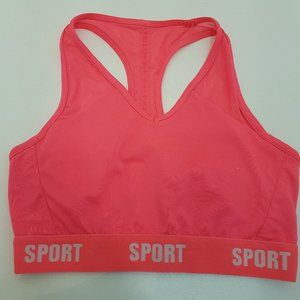 2/$20 ACX ACTIVE SPORTS BRA PINK SMALL bralet